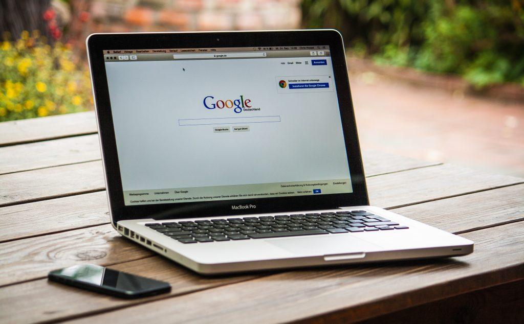 Macbook met Google